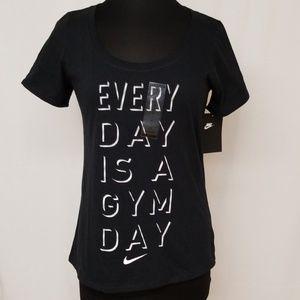 Nike Black and White T-Shirt